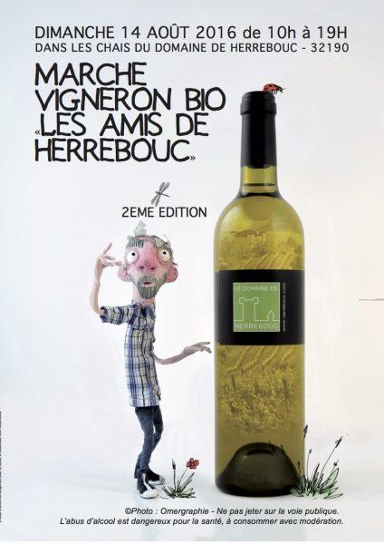 flyer marché vigneron bio 2016