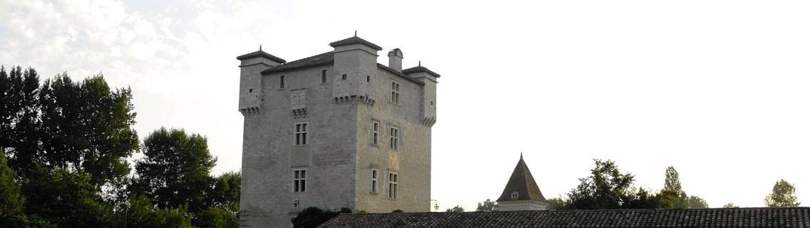 Le château de Herrebouc et son pigeonnier