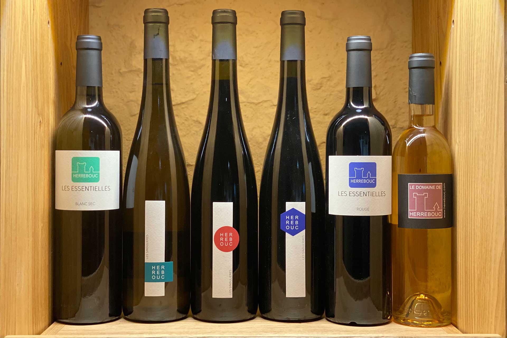 Coffret 6 vins Découverte 2020 Domaine de Herrebouc